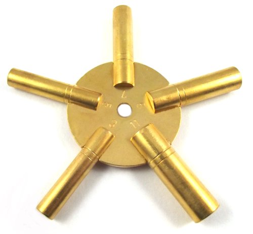 Uhrenschlüssel, Sternschlüssel (3-5-7-9-11) 5 in 1