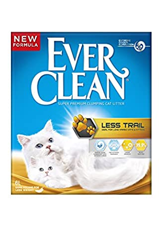 Ever Clean Less Trail Cat Litter, 6 Litre