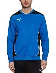 PUMA Foundation - Sudadera de fútbol sala para hombre, tamaño XL, color azul marino - negro