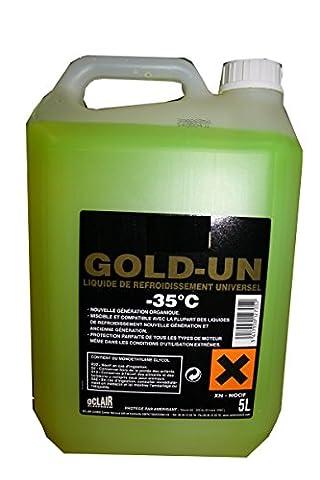 Bidon de 5 litres de liquide de refroidissement universel -35°C 0005002074
