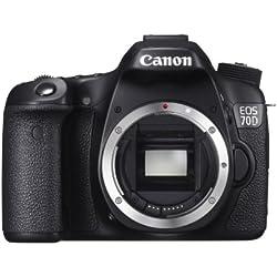 Canon EOS 70D DSLR Camera Body