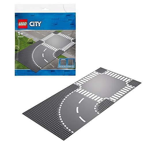 Lego 60237 City Kurve und Kreuzung, bunt -