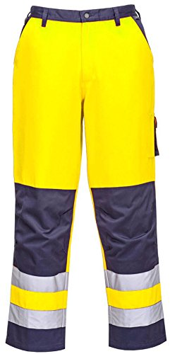 Business & Industrial Smart Hi Vis Traffic Trousers Contrast Portwest Tx51 High Viz Knee Pocket Trouser Carefully Selected Materials