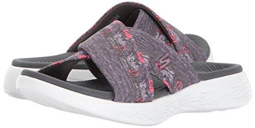 Skechers Women's 15306 Platform Sandals, Grey (Grey), 7 Uk 40 Eu