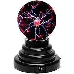 Touch Sensitive Boule de plasma Sphère lumière Boule magique pour Fêtes Décorations Accessoire Enfants Chambre à coucher Maison et Cadeaux