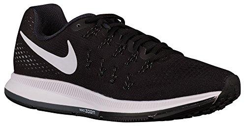 Nike Air Zoom Pegasus 33, Herren Sneaker, Schwarz - Schwarz - Größe: 44 5 (Schwarze 13 Nike Größe Sneakers)