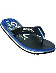 Cool Shoes Original Slight Strike Ltd, Azul flip–Sandalias de piel de estilo
