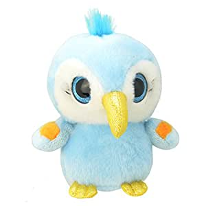 Wild Planet - All About Nature - K7861 - Peluche - Perroquet Macaw - 15 Cm