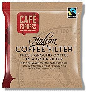 Cafe Express One Cup Coffee Filter Bags (x 50)