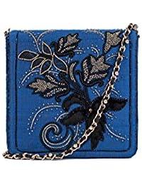 Nitya Biswas Women's Messenger Bag (Multicolour)
