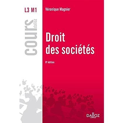 Droit des sociétés - 8e éd.