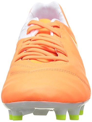 Nike Tiempo Legacy II, Chaussures de Football Entrainement Femme Orange (Tart/White-Volt-Hyper Pink)