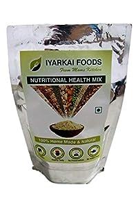 Iyarkai Foods Nutritional Natural Homemade Multigrain Health Mix (Sathu Maavu) - Ready Meal - Energy Drink - 500gm