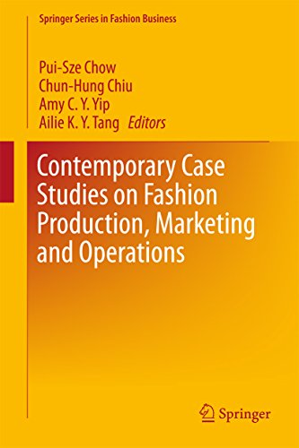 PDF BOOK Contemporary Case Studies on Fashion Production