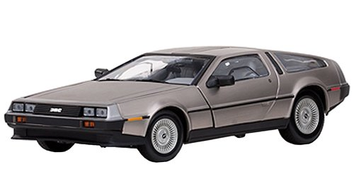 Sun Star 2701 - Sammlermodell De Lorean DMC 12 Coupe 1981, stainless steel, 1:18 (1 12 Scale Diecast)