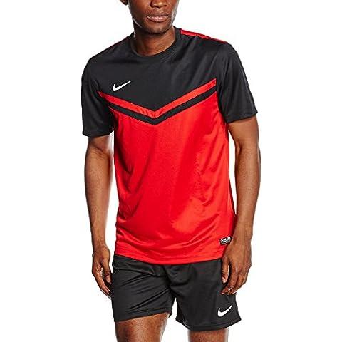 Nike SS Victory II JSY - Camiseta para hombre, color rojo / negro / blanco, talla XL
