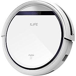 ILIFE V3s Pro Aspirateur Robot, Nettoyage automatique avec la Télécommande, Ramasse les Poils d'Animaux