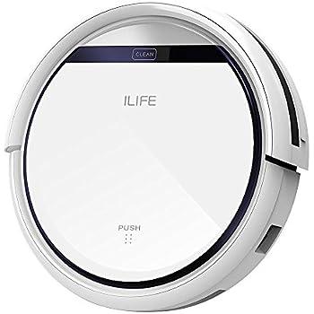ILIFE V3s Pro Aspirateur Robot,Nettoyage Automatique avec La Télécommande, Ramasse Les Poils D'Animaux
