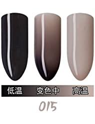 OKO Shellac UV LED Nagellack Thermo Farbwechselnd Nagellack Farblack Gel Polish Nagellack Thermo Nagelgel Manikuere