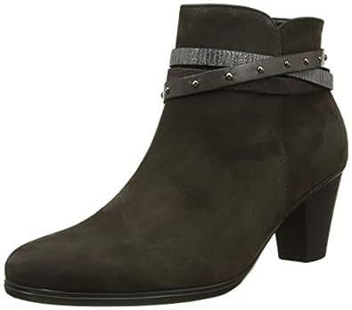 Gabor Shoes Gabor Basic, Bottes Femme, Noir (17 Schwarz Kombi), 37 EU