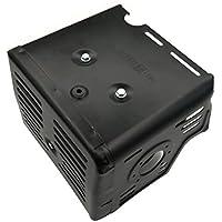 Shioshen Silenciador de escape para HONDA GX340 GX390 GX420 11HP 13HP 389cc 420cc motor de gas de 4 tiempos 18310-ZE2-W61