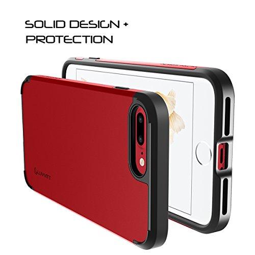 iPhone 7Plus Coque, Luvvitt [Ultra Armour] Coque Meilleur Heavy Duty double couche absorbant les chocs Coque rigide pour Apple iPhone 7Plus