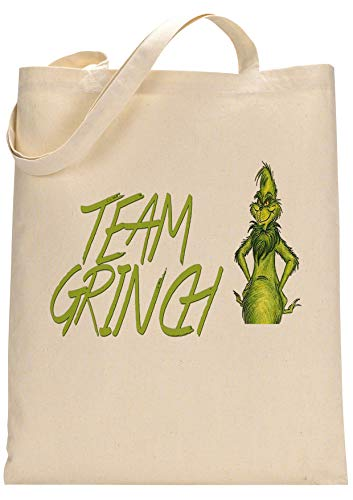 Grinch Movie Fan Custom Made Tote Bag