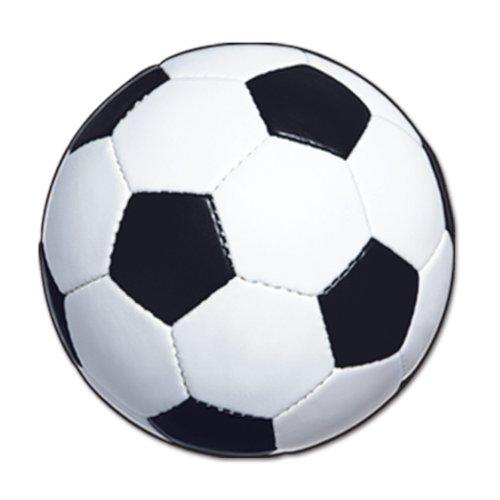 Beistle 24er Pack Fußball Ausschnitt, 13-1/2