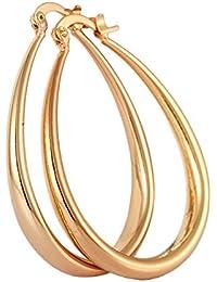 Mes-Bijoux-Bracelets Boucles d oreilles créole Doré or jaune 750 000 f5660f8aed58