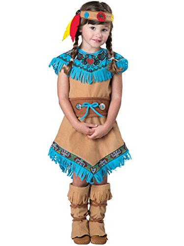 Indian Girl Kostüm Adult - InCharacter Costumes Women's Indian Girl, Tan, X-Small