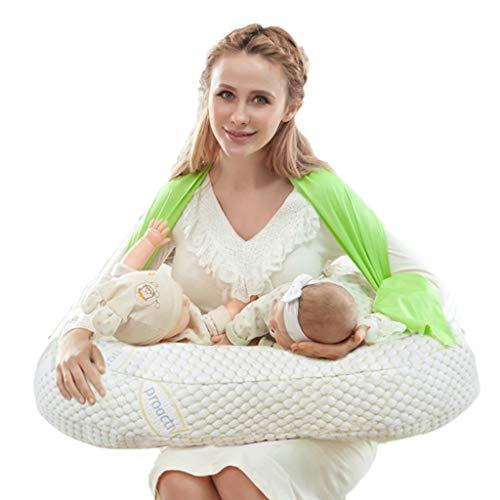 Cojines de lactancia Almohadas De Lactancia Gemelas Almohada De Alimentación Almohada Multifunción Almohada Para Mujer Embarazada Almohadilla De Lactancia Aprender A Sentarse En Una Almohada Accesorio