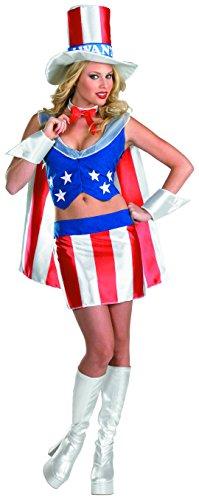 Cesar-1317-Kostüm Amerika I Want You-Größe 42/44 (Kostüm Amerika)