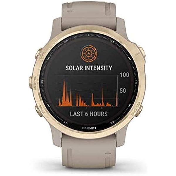 Garmin Fenix 6s Pro Solar Smartwatch Beige Elektronik
