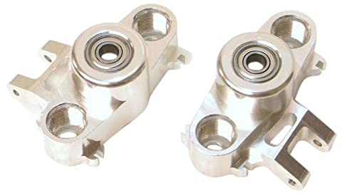 ST Racing Concepts ST5334S Steering Knuckles for Revo (Silver)