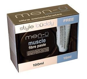 Men-u Style Buddy Gift Set - Muscle Fibre Paste 100ml & FREE matt skin refresh gel 15ml