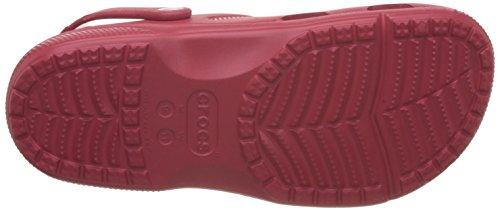 crocs Unisex-Erwachsene Coast Clogs Rot (Pepper)