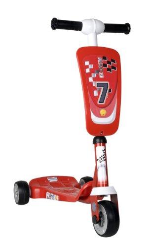 Coloma 241-11 - Roller Red Power mit 3 Rädern, rot und weiß - 3-rad-power Roller