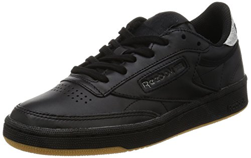 Reebok Club C 85 Diamond, Chaussures de Fitness Femme Noir