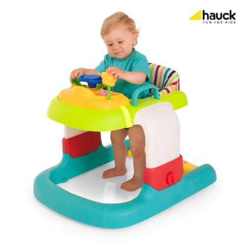 Hauck 2in1 Walker Stripe Lauflerner, Toybar, bunt, gestreifter Sitzeinhang - 5