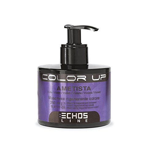 Color Up - Maschera Rigenerante Colore - Ametista (nuance viola) 250ml EchosLine