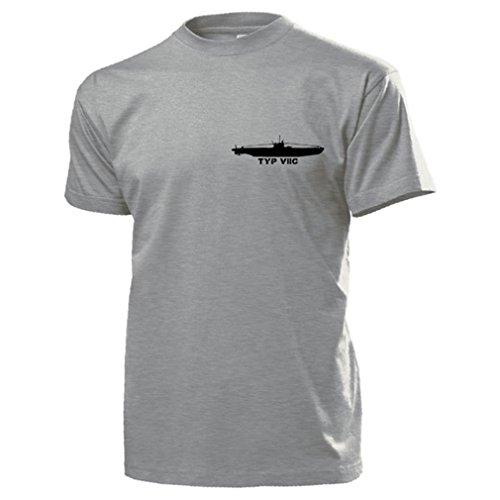 u-boot-typ-viic-wh-wk-unterseeboot-marine-einheit-wappen-abzeichen-t-shirt-16883