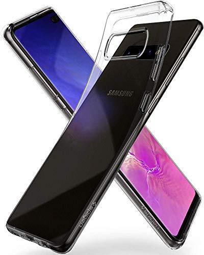 Spigen Liquid Crystal, Cover Galaxy S10+ con Tecnologia Air Cushion e Protezione per Custodia Galaxy S10 Plus - Crystal Clear