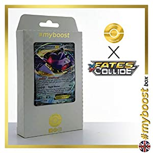 GENESECT EX 64/124 - #myboost X Fates Collide XY 10 - Caja de 10 Cartas Pokémon inglesas