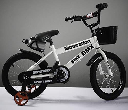"Generation BMX - Bicicleta para niño (16\""), Blanco"