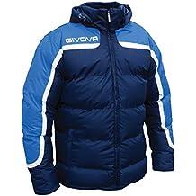 c7cbb01282f756 Giosal Giubbotto Uomo GIVOVA Antartide Invernale Trapuntato Imbottito Sport  Relax Comfort Azzurro/Blu-M