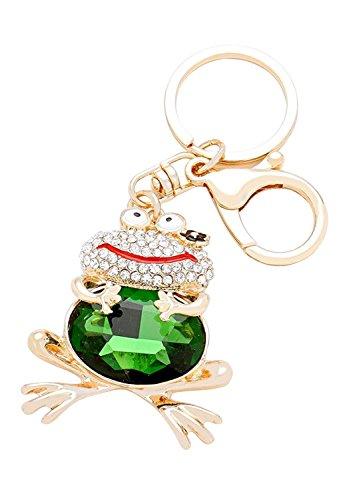 rosemarie-collections-femmes-de-cristal-pave-porte-cles-avec-breloque-sac-a-main-happy-grenouille