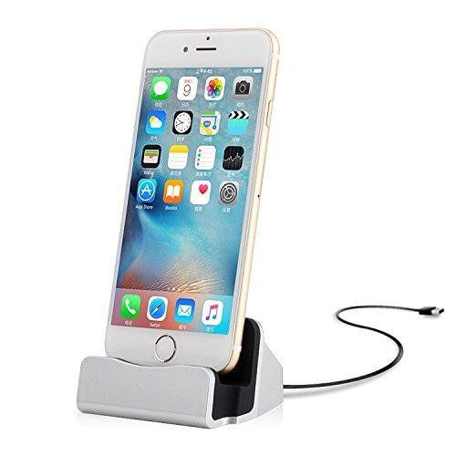 Libro PDF Gratis iPhone 7 Charger Dock, Yilan Durable iPhone