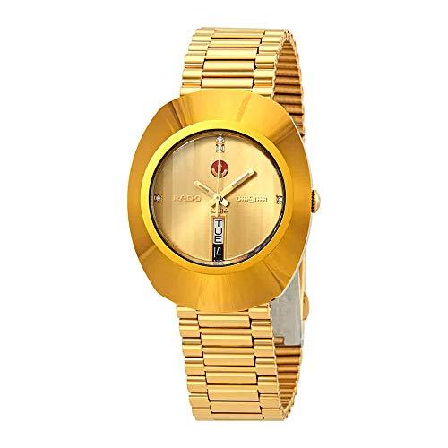 Rado Original R12413773 - Orologio da uomo dorato, colore: Giallo