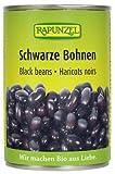 Rapunzel Schwarze Bohnen in der Dose, 400 g