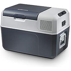 MOBICOOL FR40 Glacière portable à compression, 38L, 12/24/230V, +10°C à -10°C, p584xh446xl365mm, Norme FR, [Classe énergétique A+]